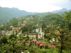 Sunshine Over Sapa Town, Vitnam.    Sapa  is a beautiful, mountainous town in northern Vietnam  along the border with China.  Sa Pa , or...