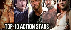 Top 10 action Stars