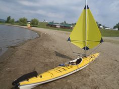 Twins sails for kayaks