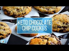 Keto Chocolate chip cookies are a big favorite amongst the ketogenic community. Low carb cookies are a perfect recipe to make for any occasion