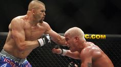Tito Ortiz bowing down to Chuck Liddell at UFC 66