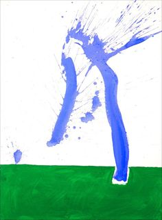 Study in Watercolour #1 (In Green and Blue)