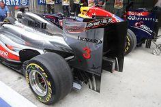 Mclaren Mercedes and Red Bull Racing