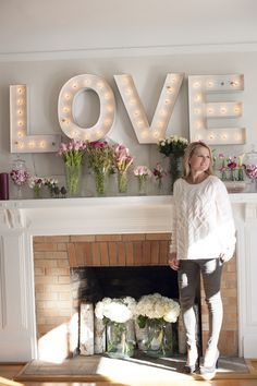 living room marquee letters - Google Search