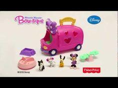 Fisher Price - Disney Minnie s Pet Tour Van - Minni Mouse - YouTube