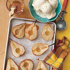 Honey-Roasted Pears Recipe | MyRecipes.com