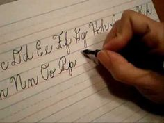 Children love to learn cursive. Fun lessons will get you and your children fluent in cursive in no time... http://www.squidoo.com/Teaching-Cursive