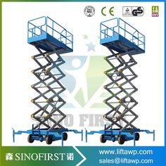 10m Hydraulic Mobile Skyjack Scissor Lift Hydraulic Platform Lift #Affiliate