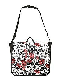 40dfb4863438 HOTTOPIC.COM - Dickies Day Of The Dead Messenger Bag Hot Topic