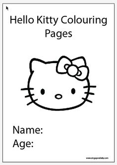 Print out these free 10-page Hello Kitty colouring pages for your children and spend a fun afternoon colouring in. Each page features a different Hello Kitty picture for your kids to colour in as they wish. There's hours of fun for the kiddos, which hopefully means hours of freedom for mama and dada. To get your hands on the free PDF colouring pages, simply visit: http://singaporebaby.com/10-free-hello-kitty-colouring-pages/  Provided by http://singaporebaby.com  #hellokitty #coloring