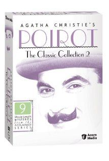 Poirot. Series written by Agatha Chrisie. Hercule Poirot is a Belgian private detective living in England.  Actor David Suchet.