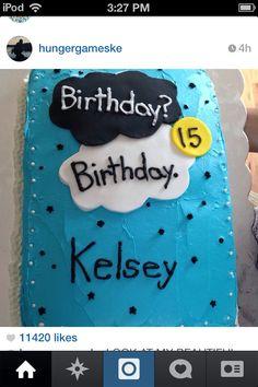 I will do this on my birthday, I will