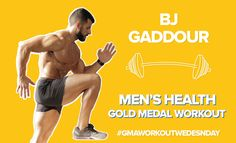 'Workout Wednesday' on 'GMA': Men's Health's BJ Gaddour Leads an…