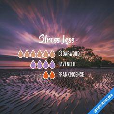 Stress Less - Essential Oil Diffuser Blend