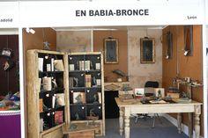 Stand de #EsculturasMorla y sus #FigurasEnBronce en la Feria de Artesanía de Valladolid