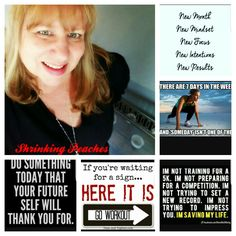Fitness goals  Shrinking Peaches Facebook page