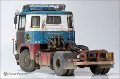 Scania LB 141 Truck Model Kit Heller 1/24 by Barlas Pehlivan