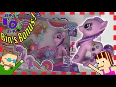 BINS BONUS - My Little Pony Cutie Mark Magic Buttonbelle and Breezies | Bins Toy Bin - YouTube