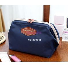 2014 New Arrival Cute Women's Lady Travel Makeup bag Cosmetic pouch Clutch Handbag Casual Purse 4 Colors #2 SV002470-in Clutches from Luggage & Bags on Aliexpress.com | Alibaba Group