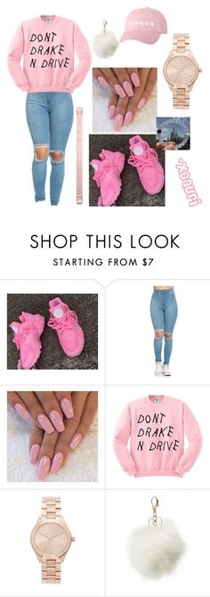 """"" by xoauri1 ❤ liked on Polyvore featuring Michael Kors and Charlotte Russe"