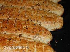 Fotorecept: Jednoduché špaldové celozrnné bagety Hot Dog Buns, Hot Dogs, Food And Drink, Bread, Fit, Recipes, Basket, Shape, Brot