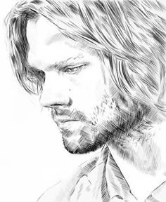 48 Ideas For Funny Drawings Sketches Colored Pencils Supernatural Fans, Supernatural Drawings, Jared Padalecki Supernatural, Castiel, Winchester Brothers, Sam Winchester, Funny Drawings, Disney Fan Art, Drawing People