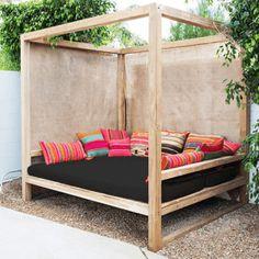 Boho Outdoor Bed