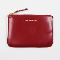 Comme des Garçons Flat zip wallet