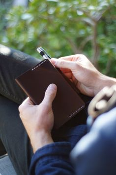 Horween Leather Notebook Case
