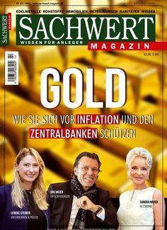 #Gold: Wie Sie sich vor #Inflation und den #Zentralbanken schützen 💰  Jetzt in Sachwert Magazin:  #Börse #Anlegen