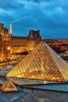 "Louvre pyramid Paris I This reminds me of ""Grim Tuesday"" from the ""Keys to the Kingdom"" series by Garth Nix! Louvre pyramid Paris I This reminds me of ""Grim Tuesday"" from the ""Keys to the Kingdom"" series by Garth Nix! Places Around The World, The Places Youll Go, Travel Around The World, Places To See, Paris Travel, France Travel, Travel Europe, Paris France, Paris Paris"