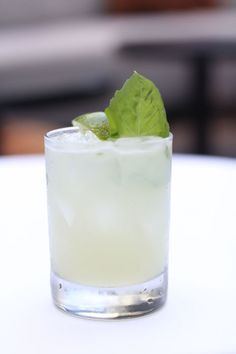 Basil 'Rita  Ingredients:  1 1/2 oz. Avion tequila  4 basil leaves  3/4 oz. lime juice  1/2 oz. simple syrup  1/4 oz. triple sec  Add all ingredients into a shaker and shake vigorously. Strain over fresh ice in a rocks glass; garnish with basil leaves.