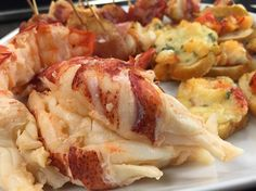 Chef Laura Blackwell from the Newport Lobster Shack to show us how to make Lobster Wrapped Bacon and Lobsta Crostini.