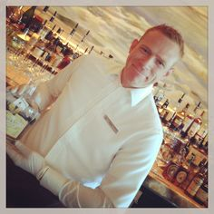 Brad at the Ritz Carlton Ft. Lauderdale thought he didn't like white #whiskey until he tasted Troy & Sons platinum!