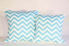 Blue pillows. Please enjoy this repin! Be sure to visit my Facebook page: Stay Beautiful Within