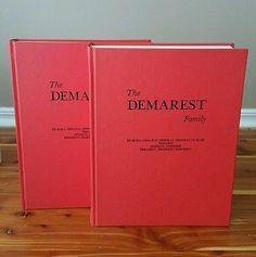 1964 VOLUME I & II ~ THE DEMAREST FAMILY ~ HISTORICAL DEMAREST NEW JERSEY NJ