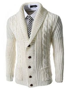 Slim Fit Shawl Collar 5 Button Knitted Cardigan, My bill cosby sunday look Sharp Dressed Man, Well Dressed Men, Style Gentleman, Gentleman Mode, Mode Masculine, Winter Stil, Mode Inspiration, Men Dress, Nice Dresses