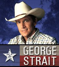 "George Strait - country music singer, actor, and music producer known as the ""King of Country"" and called a living legend by some. He is known for his neotraditionalist country music style. Country Music Artists, Country Music Stars, Country Singers, Martina Mcbride, George Strait, Carrie Underwood, Kinds Of Music, My Music, Alabama"