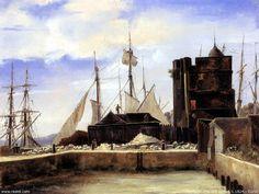 Jean-Baptiste Camille Corot, Honfleur, Le Vieux Port