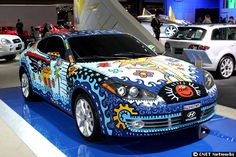 What do you think of the paint job on this Hyundai?