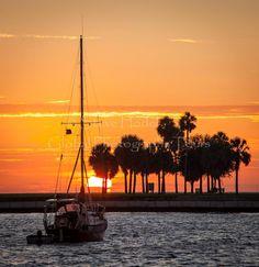 Saint Petersburg Florida Sunrise