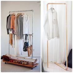 percheros para ropa reciclados - Buscar con Google