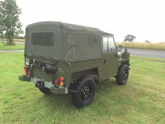 Land Rover® Lightweight *Galvanised Chassis & Tax Exempt* (CTF) - John Brown 4x4