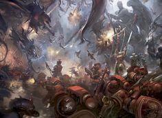 angel axe banner battle blood_angels bolter chainsword commander epic gargoyle imperium jump_pack space_marines statue sword terminator tyranids zoanthrope
