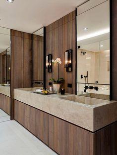 Un cuarto de baño muy natural