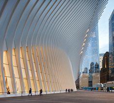 Oculus, World Trade Center Transportation Hub by Santiago Calatrava – Parametric Architecture Parametric Architecture, Futuristic Architecture, Contemporary Architecture, Landscape Architecture, Amazing Architecture, Architecture Design, Chinese Architecture, Architecture Office, New York Architecture