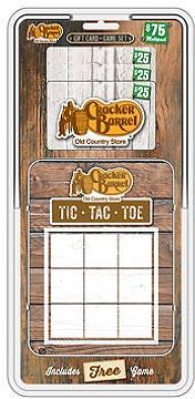 $75 Cracker Barrel Gift Card for $56.48: Get 3 $25 Gift Cards totaling $75 for only $56.48 #coupons #discounts