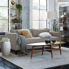 Dunham Down-Filled Sofa - Box Cushion #westelm