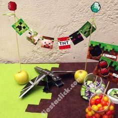 Minecraft Mini banderines