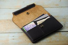 Leather Field Notes Cover Wallet Horween by Manufacturabrand
